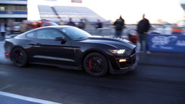 Shelby GT500 is een 10 sec car