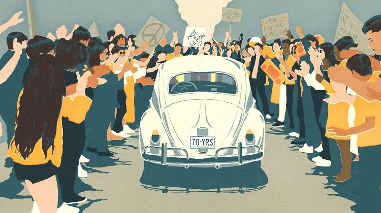 Volkswagen neemt afscheid van de Kever