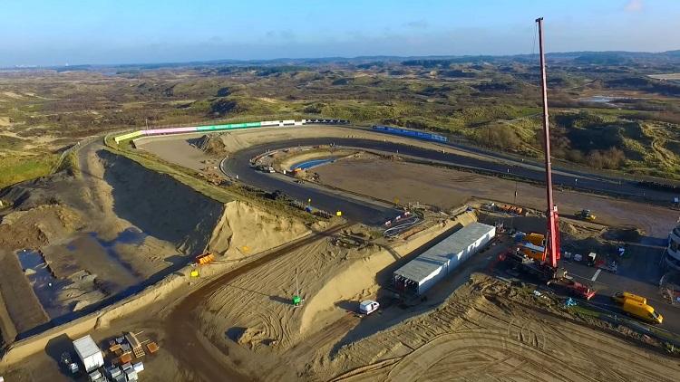 Zo ziet Circuit Zandvoort eruit per 19-12