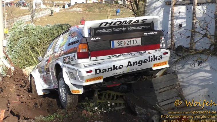 Audi Quaattro Crash