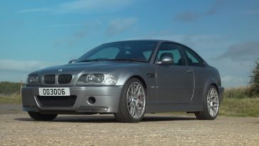 BMW M3 CSL Handbak
