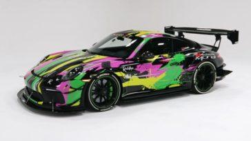 Deze 911 GT3 RS heeft twin turbo's en 950 pk