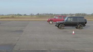 Mercedes-AMG-G63 Oud vs Nieuw