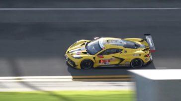 Nieuwe Corvette C8.R test op Daytona