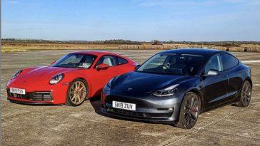 Tesla-Model3-Performance-vs-Porsche-991-Carrera-S