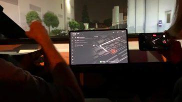 Zo ziet het interieur van de Tesla Cybertruck eruit