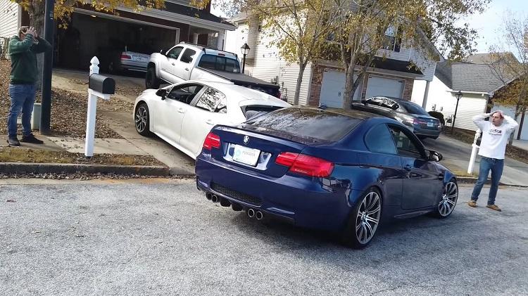 BMW M3 Total Loss binnen 15 minuten na aanschaf