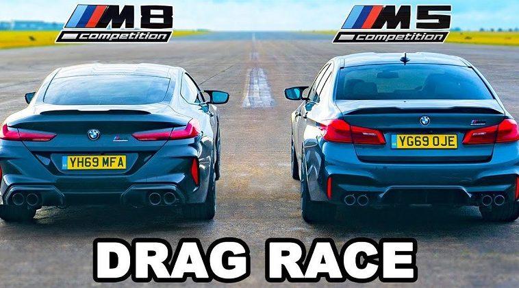 BMW M5 vs M8