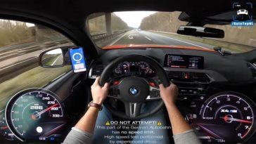 BMW X4M Competition Topsnelheid