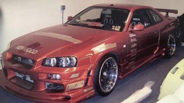 Eddie Nissan R34 GTR NFS Underground