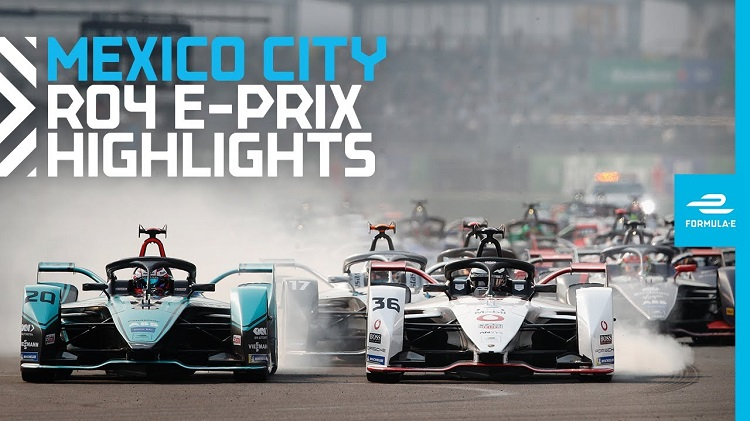 Formule E 2020 - Mexico ePrix Highlights