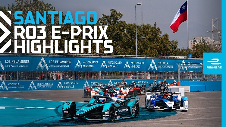 Formule E 2020 - Santiago ePrix Highlights