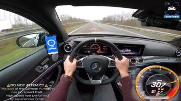 Mercedes-AMG E63 S haalt 307 kmh