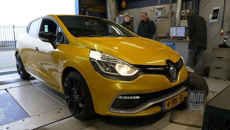 Op de Rollenbank - Renault Clio RS