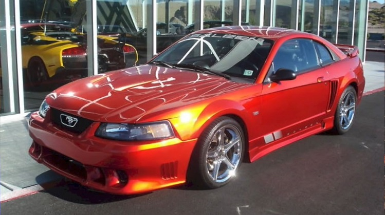 Saleen Mustang van 2Fast 2Furious
