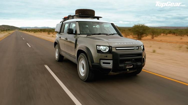 2020 Land Rover Defender getest