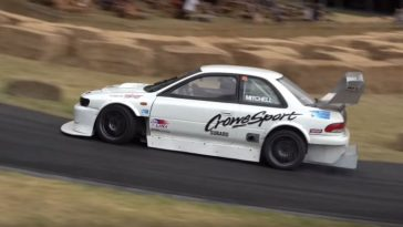 500 pk Subaru Impreza WRX Type-R