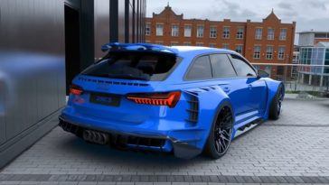 Audi RS6 bodykit is wild