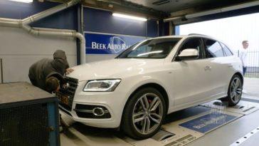 Audi SQ5 op de rollenbank