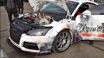 Audi TT RS sprint in 15 seconden naar 322 kmh