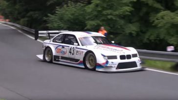 BMW E36 M3 GTR in Hillclimb Racing