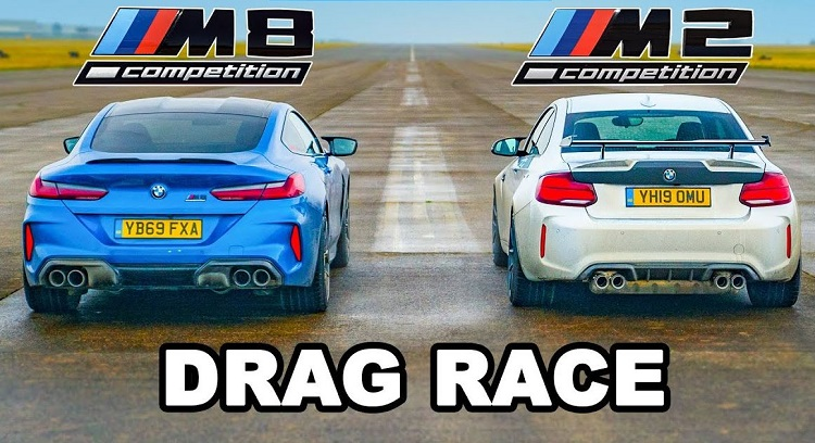 BMW M2 Competition vs BMW M8 Competition