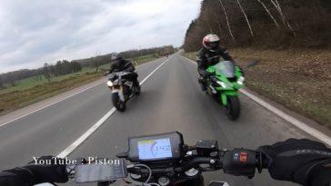 Belgische motorrijder krijgt de schrik van zijn leven