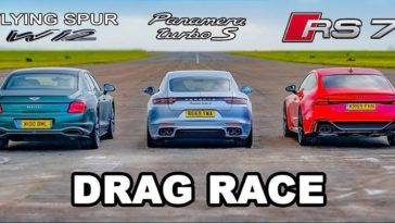 Bentley Flying Spur vs Audi RS7 vs Porsche Panamera Turbo S