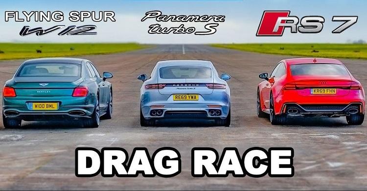 Bentley Flying Spur vs Audi RS7 vs Porsche Panamera Turbo S
