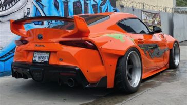 Fast and Furious Toyota Supra Mk5