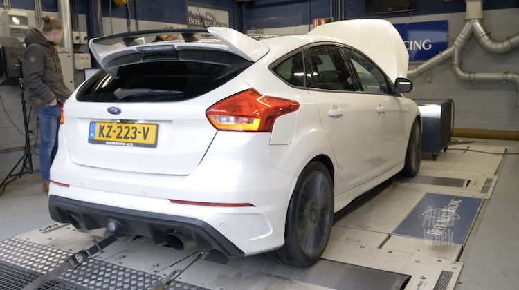 Ford Focus RS Rollenbank