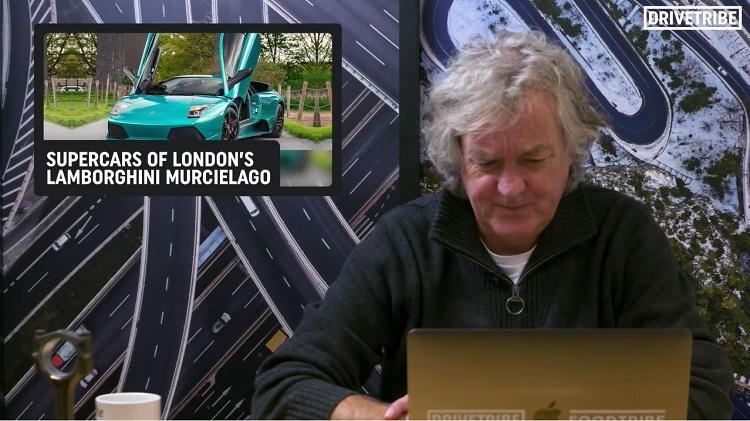 James May geeft zijn mening over auto's van YouTubers