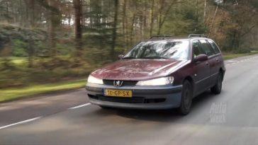 Klokje Rond - Peugeot 406 Break 1.8 met 784.321 km