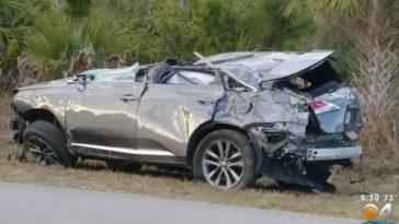 Lexus LX Crash