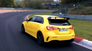 Mercedes-AMG A 45 S Nordschleife Lap