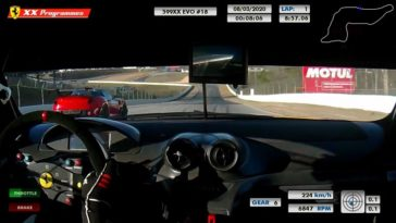 Onboard Ferrari 599XX Evo at Road Atlanta