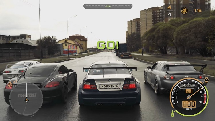 Real Life Need For Speed deel 3 Most Wanted