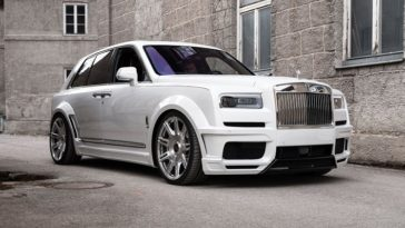 Spofec's Rolls-Royce Cullinan is laag en breed