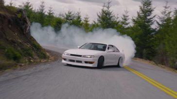 Touge drifting met een 850 pk 2JZ Nissan S14 Silvia