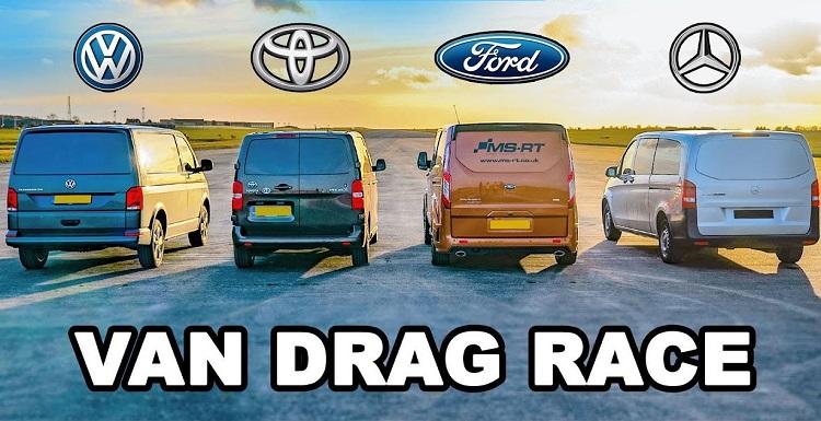 VW Transporter vs Ford Transit vs Toyota Proace vs Mercedes Vito