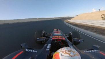 Verstappen test nieuwe Circuit Zandvoort met Red Bull RB8