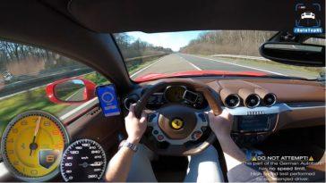 Ferrari FF 320 kmh