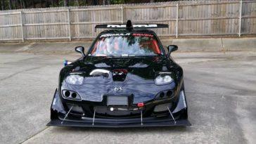 Formula Seven Mazda RX-7 is nu nóg extremer