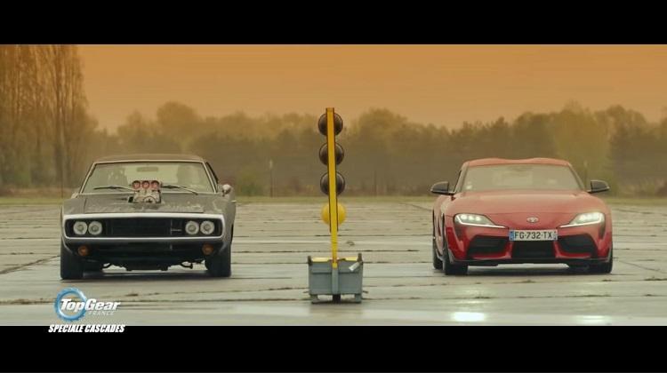 Franse Top Gear speelt beroemde scene na met nieuwe Toyota Supra