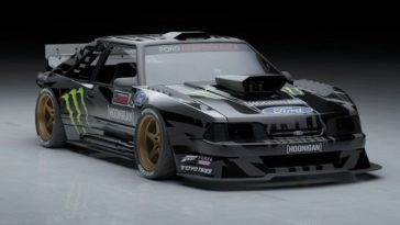Ken Block's Fox-Body Mustang Hoonicorn