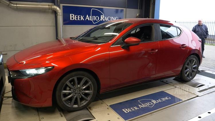 Op de Rollenbank - Mazda 3 Skyactiv-G 2.0