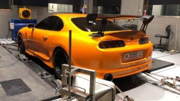 Toyota Supra meet 2.033 pk aan de wielen!