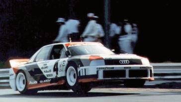 korte film over de 1989 Audi 90 Quattro IMSA GTO