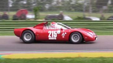 Alfa Romeo Tipo 33 Periscopica op Imola