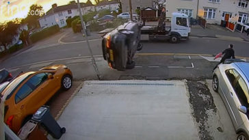 Audi Crash